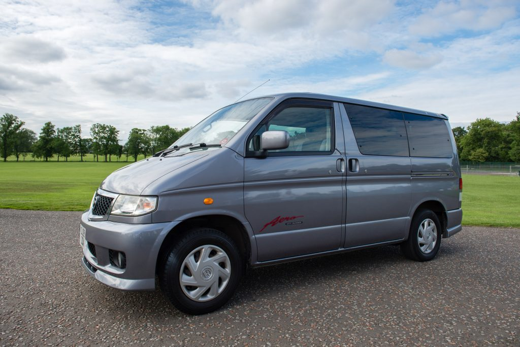 Edinburgh Campervan Hire - Mazda Bongo for Rental